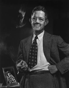 Dr Alfred Blalock, co-developer of the Blalock-Taussig Shunt, 1950 by Yousuf Karsh.