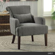 Furniture of America Romera Contemporary Accent Chair
