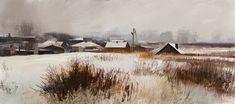 Winter Landscape, Tymoteusz Chliszcz on ArtStation at https://www.artstation.com/artwork/PR9E3