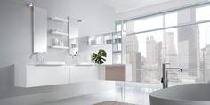 Decoração e Projetos Decoração de Banheiros Brancos