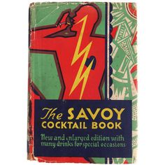 "Ultra Rare ""The Savory Cocktail Book"", England, 1933 