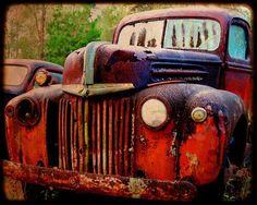 Old Hank  Rusty Old Car  Ford  Fine Art by kellywarrenphotoart, $20.00