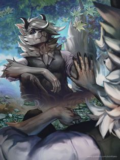 Furry Wolf, Furry Art, Wolf People, Beautiful Fantasy Art, Anime Furry, Furry Girls, Furry Drawing, Anthro Furry, Character Art
