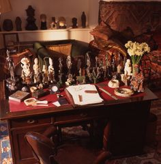 The Freud Museum is in the house that was Sigmund Freud's London home after he fled the Nazis in 1938.