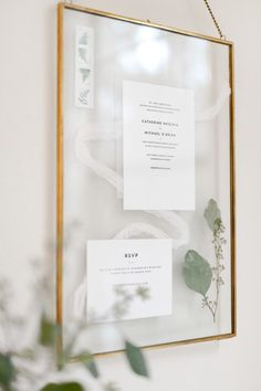 "I spied this crafty wedding invitation keepsake idea over on ctrl + curate, a blog by recent bride Cat, now married and dealing with all of those post-wedding ""what do I do with this"" p…"