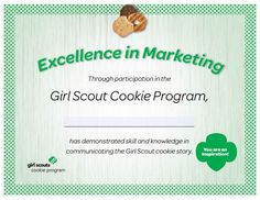excellence in teamwork certificate Gs Cookies, Business Ethics, Girl Scout Cookies, Decision Making, Money Management, Teamwork, Girl Scouts, Certificate, Leadership