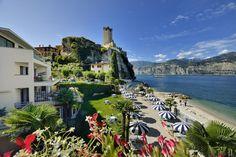 Hotel Castello Lake Front – Malcesine for information: Gardalake.com