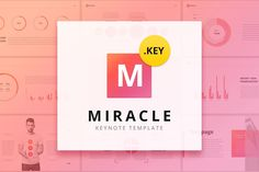 Miracle Modern Keynote Template by Site2max on @creativemarket