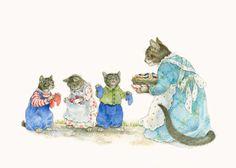 three little kittens   Three Little Kittens by Johanna Westerman