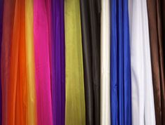 AMAZINGLY cheap site for ribbon, tulle, fabrics and more. I'm on my way to spending entirely too much money.
