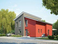 Pultdachhaus ProStyle 141 FG+BG U2022 Bausatzhaus Von ProHaus U2022 Exklusives  Energiesparhaus Mit Modernem Grundriss