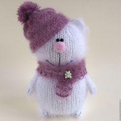 Купить Медвежонок Белоснежка. - белый, медвежонок, мишка ручной работы, мишутка, мишки тедди