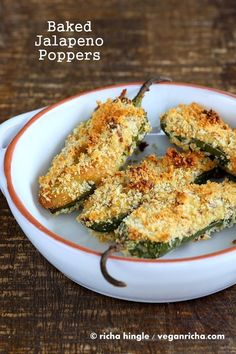 Baked Jalapeno Poppers and looking for Recipe Testers. Vegan Recipe   Vegan Richa