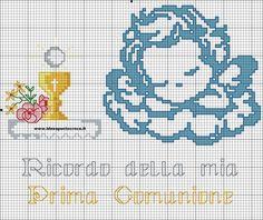 SCHEMA ANGELO PRIMA COMUNIONE