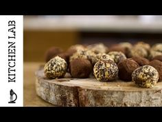 Recipe thumb small for site Non Chocolate Desserts, Kinds Of Desserts, Chocolate Treats, Chocolate Truffles, Chef Recipes, Greek Recipes, Candy Recipes, Recipies, Greek Sweets