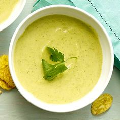 Utilize that summer squash with this Curried Zucchini Soup for 165 calories! | Health.com