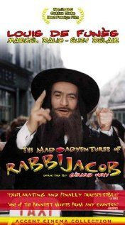 Directed by Gérard Oury. With Louis de Funès, Miou-Miou, Suzy Delair, Marcel Dalio. A bigoted Frenchman finds himself forced to impersonate a popular rabbi while on the run from a group of assassins - and the police. Rabbi Jacob, Ingmar Bergman, Movie Covers, Great Films, Movie List, Film Movie, Comedians, Mad, Movie Posters