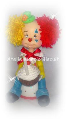 Topo de bolo para festa tema Circo.