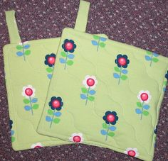 potholder pair lime green with flowers by eclecticconnection  https://www.etsy.com/listing/211643593/potholder-pair-lime-green-with-flowers?ref=sr_gallery_34&ga_search_query=pot+holders&ga_order=most_relevant&ga_min=5.00&ga_max=5.00&ga_page=16&ga_search_type=all&ga_view_type=gallery