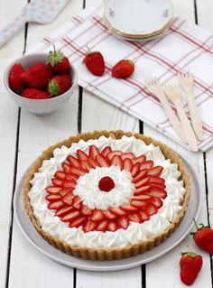 No-Bake Strawberry and Yogurt Pie