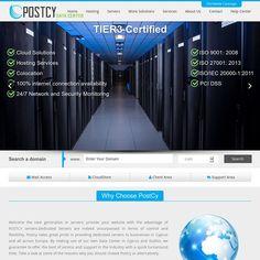 Colocation Hosting Services, PostCy Datacenter