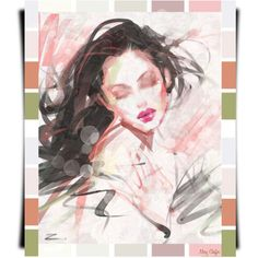Lovely Lorene by mcheffer on Polyvore featuring polyvore, art and expression