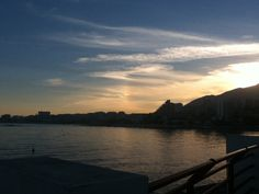 Malaga-Benalmadena  sunset