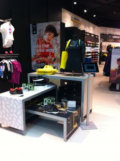 Display design of Adidas Boost campaign in Intersport Friis Aalborg, Denmark - by EnaEna