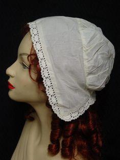 Victorian Colonial Regency Maid Mob Cotton Cap New   eBay