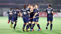 In an entertaining game, France edged past Spain to earn 3 points from their first outing in Pool B at Major Dhyan Chand National Hockey Sta...