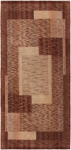 Drawn in an austere rectilinear style, this archetypal French art deco rug embodies early 20th century trends and enduring discoveries that would become a lasting part of modern design.