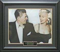 Ronald Reagan & Marilyn Monroe Framed Photo | Official Photo