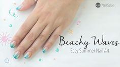 Summer Nail Art | beach inspired nails  #nailart #nail #summer #beach #wishtrend #wishtrendtv