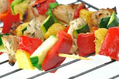 6 Shish Kabob Recipes That Will Make Summer Dinner Sizzle -- get a little creative!