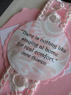 """""""There is nothing like staying at home for real comfort"""" Jane Austen  When the journey is done, home feels sooo good."""