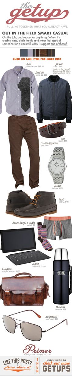 The Getup: Out in the Field Smart Casual - Primer