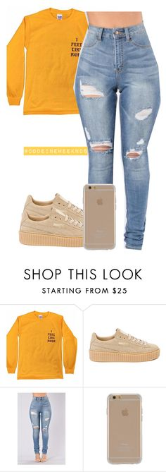10/12/16 by codeineweeknds ❤ liked on Polyvore featuring Puma and Agent 18