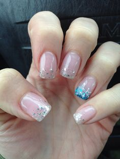 #nails #gelnails #frozennails Nails by Cindy