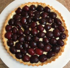 This Fresh Cherry Tart Recipe is beautiful and delicious and is a recipe you have to try for your next party or special occasion. You won't regret making this impressive and tasty treat! This Fresh Cherry Tart Recipe will make you feel like you can make anything in the kitchen! There are several steps in this cherry tart recipe, and you will not be whipping this up quickly, but the steps flow pretty easily. I usually say my recipes are easy, this one is a little more complex. But I promise…