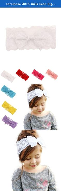 coromose 2015 Girls Lace Big Bow Hair Band Wrap Band Accessories (White). Z-10 PCS,Z-9 PCS,Z-18 PCS,Z1-10 PCS,Z-20PCS,Z-8 PCS:Material: Cloth Size: Z-10 PCS: Size:1.5cm(Width)x16.5-24.5cm(Length) Z-9 PCS:Circumference:32-48cm Z-18 PCS:Head Circumference:More than 36 cm Z1-10 PCS:Size:4cm(Width)x14-24cm(Length) Z-20PCS :Head Circumference:More than 36 cm Z-8 PCS:free size Description: Special accessory for your child perfect for photo shoots or for any special occasions A great gift for…