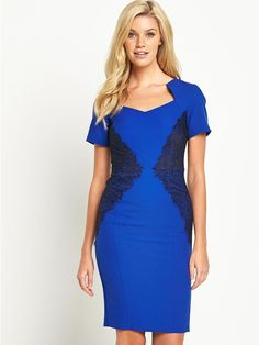 Lace Panel Cap Sleeved Dress, http://www.littlewoodsireland.ie/south-lace-panel-cap-sleeved-dress/1458040879.prd
