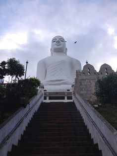 Big Buddha in Kandy, Sri Lanka
