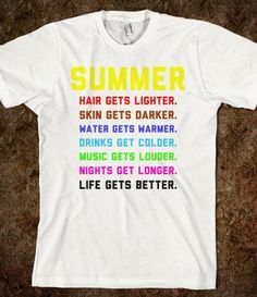 Summer - Text First - Skreened T-shirts, Organic Shirts, Hoodies, Kids Tees, Baby One-Pieces and Tote Bags