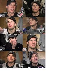 The beautiful faces of Sidney Crosby. This is why we are a perfect match