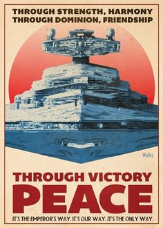 Star Wars Propaganda Poster /:/