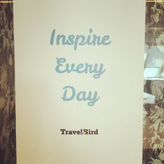Inspire our colleagues so they can inspire our customers!