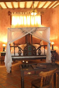 Swahili-style bedroom decor