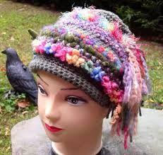 Afbeeldingsresultaat voor crochet hat art