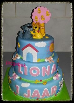 Woezel and pip cake