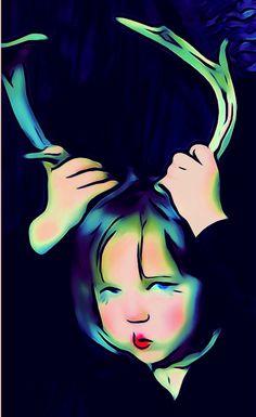 """photo art """"Deer Little One"""" by Leoh"""